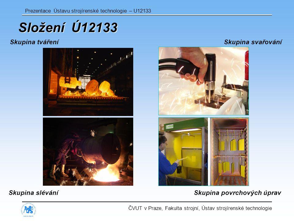Složení Ú12133 Skupina tváření Skupina svařování Skupina slévání