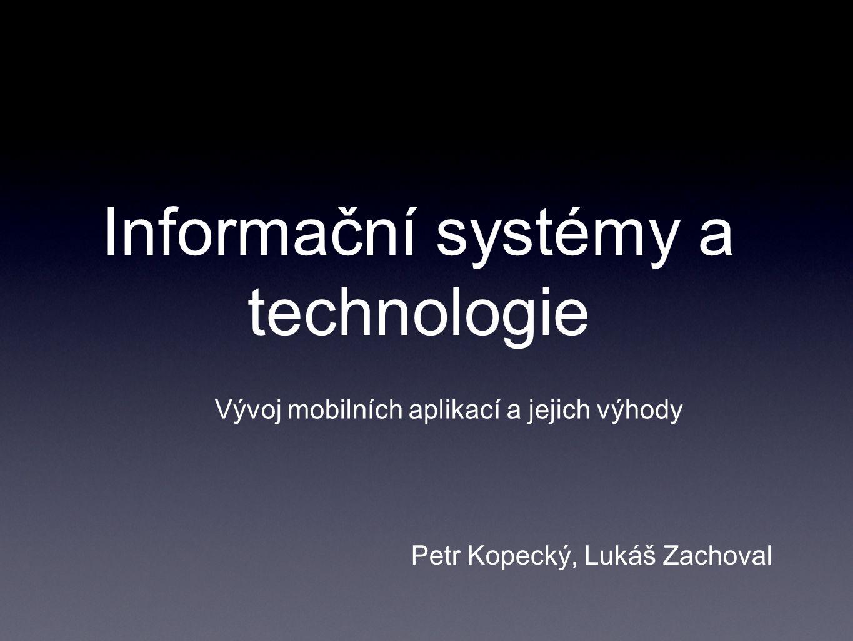 Informační systémy a technologie