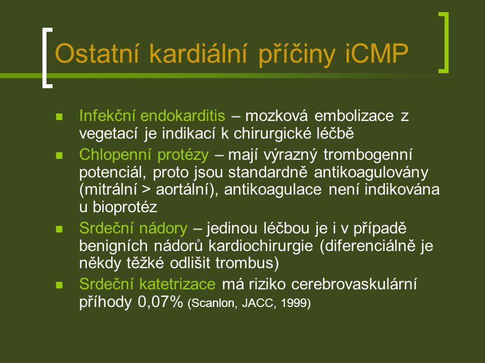 Ostatní kardiální příčiny iCMP