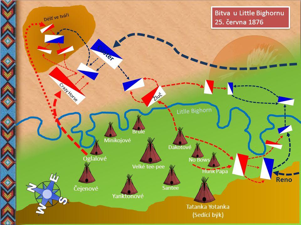 Bitva u Little Bighornu 25. června 1876