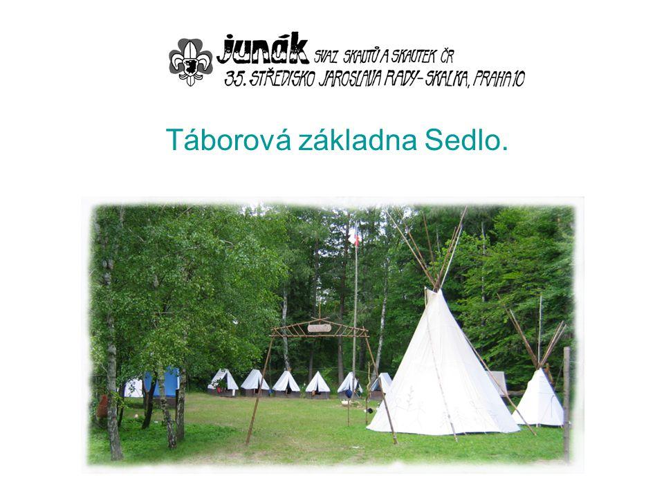 Táborová základna Sedlo.