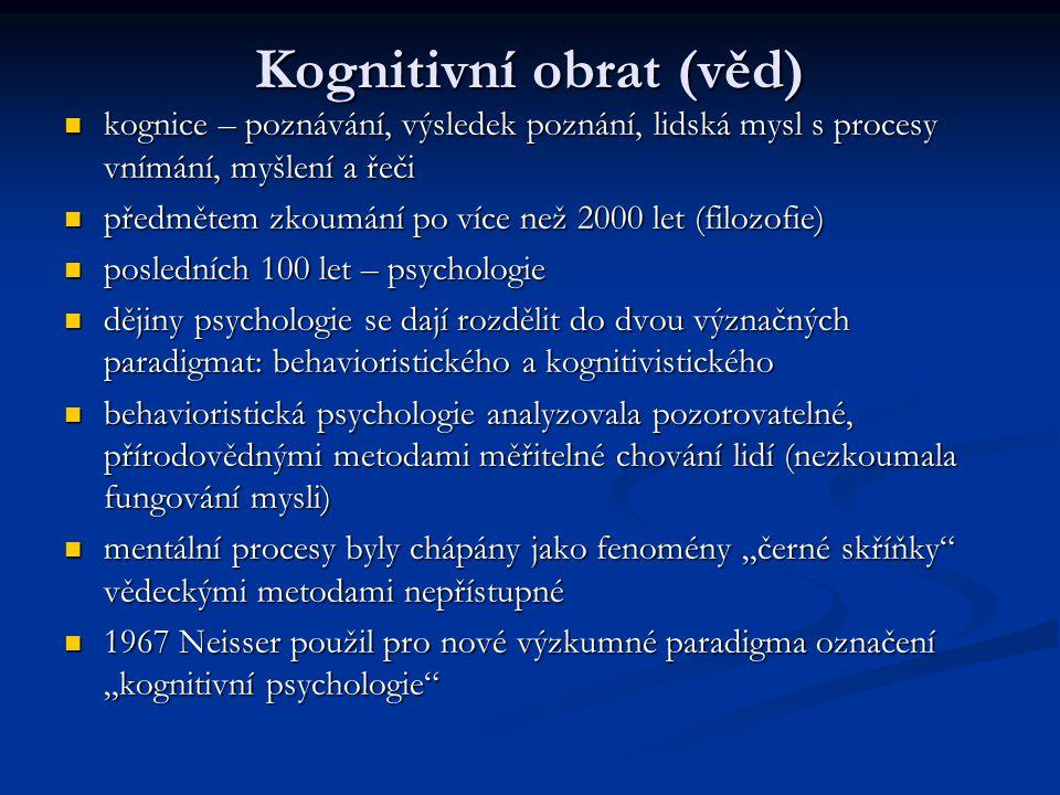 Kognitivní obrat (věd)