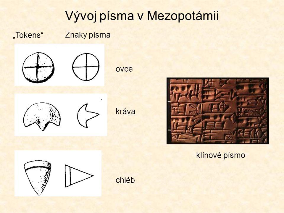Vývoj písma v Mezopotámii