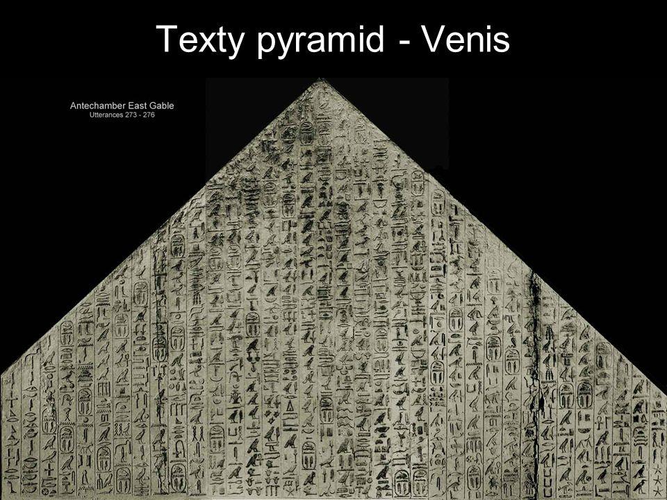 Texty pyramid - Venis