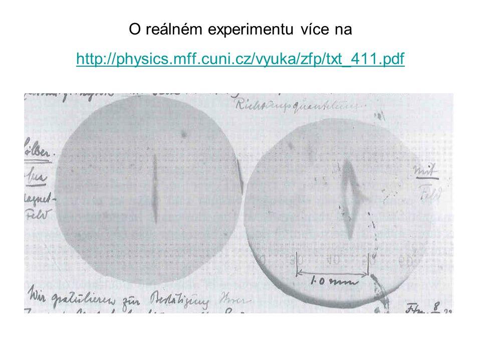 O reálném experimentu více na http://physics. mff. cuni