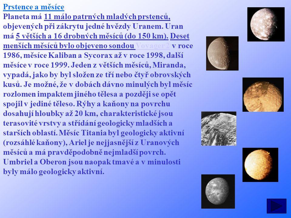 Prstence a měsíce