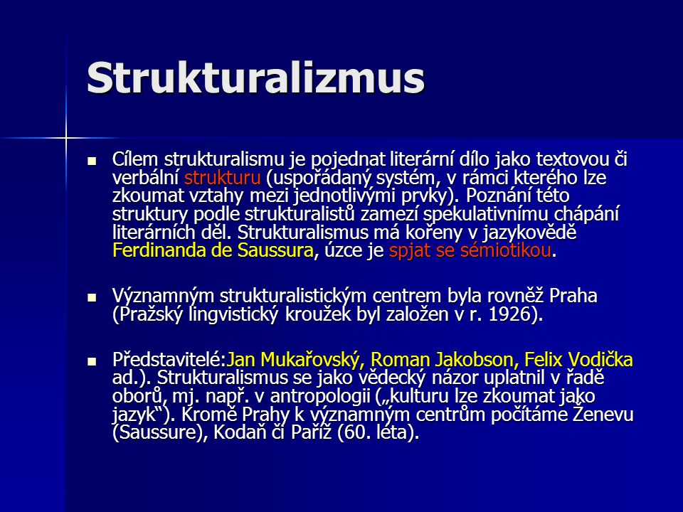 Strukturalizmus