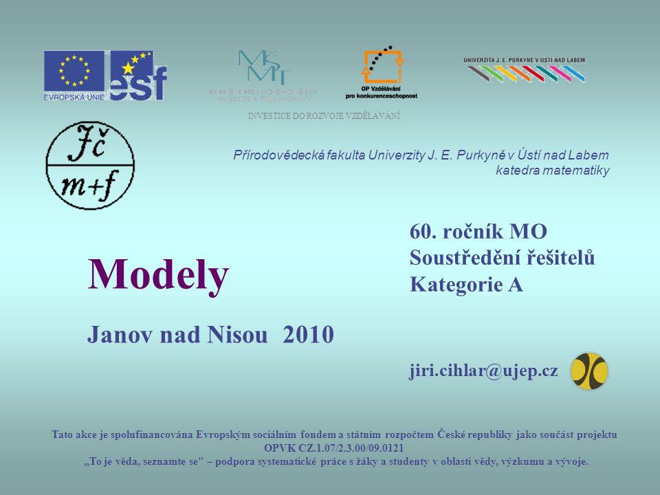 60. ročník MO Soustředění řešitelů Kategorie A