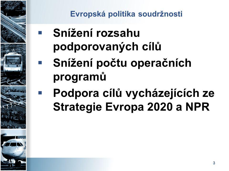 Evropská politika soudržnosti