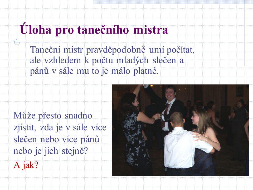 Úloha pro tanečního mistra