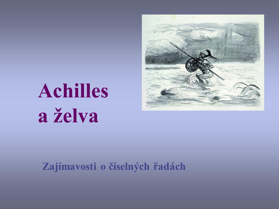 Achilles a želva Zajímavosti o číselných řadách