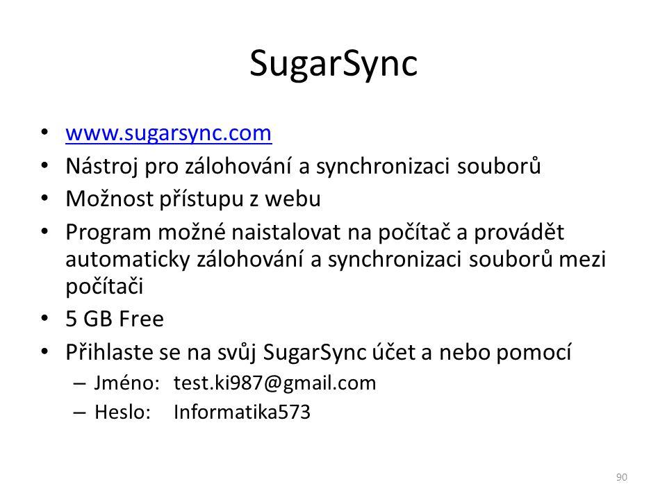 SugarSync www.sugarsync.com