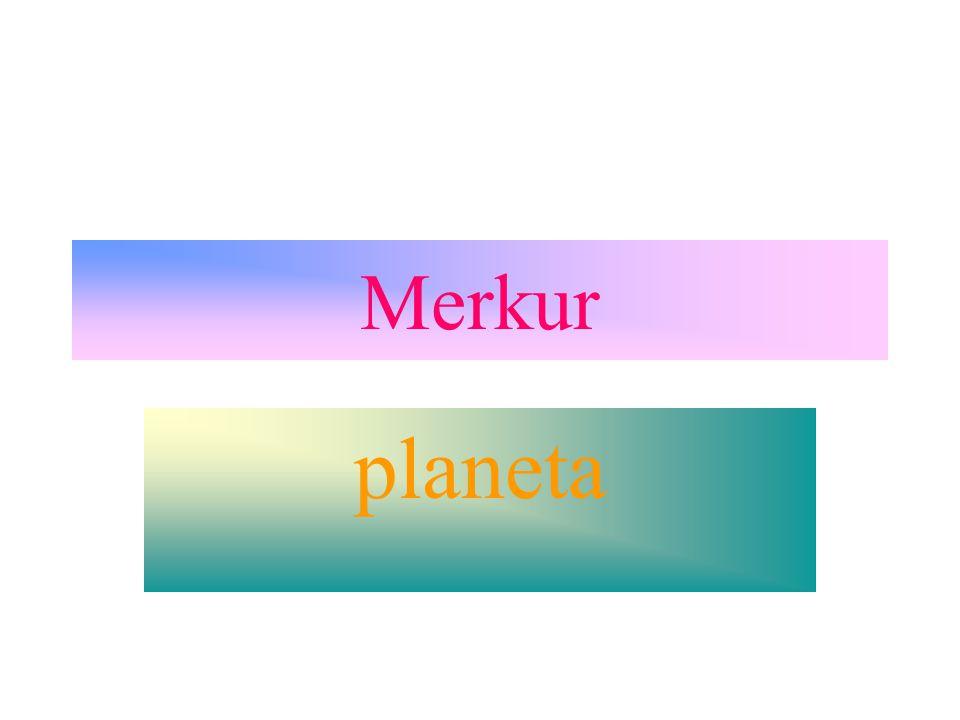 Merkur planeta