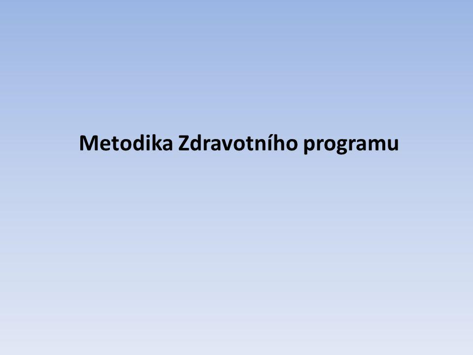 Metodika Zdravotního programu