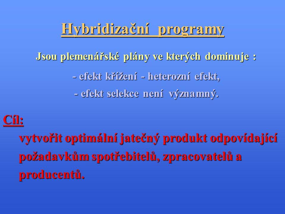 Hybridizační programy