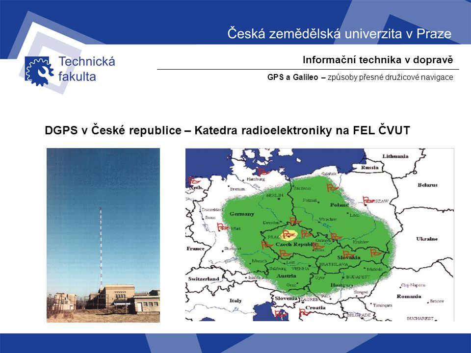 DGPS v České republice – Katedra radioelektroniky na FEL ČVUT