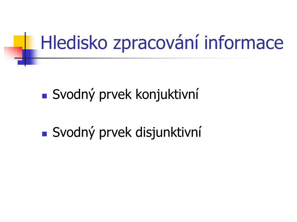 Hledisko zpracování informace