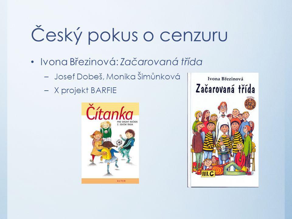 Český pokus o cenzuru Ivona Březinová: Začarovaná třída