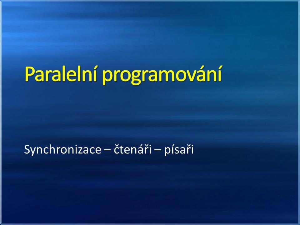 Paralelní programování
