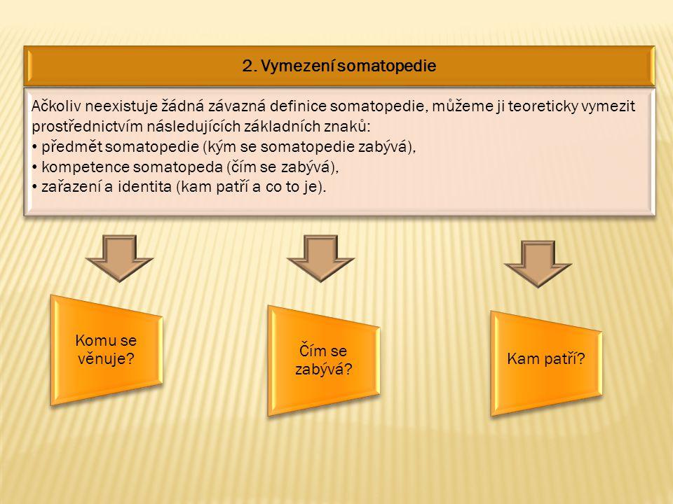 2. Vymezení somatopedie