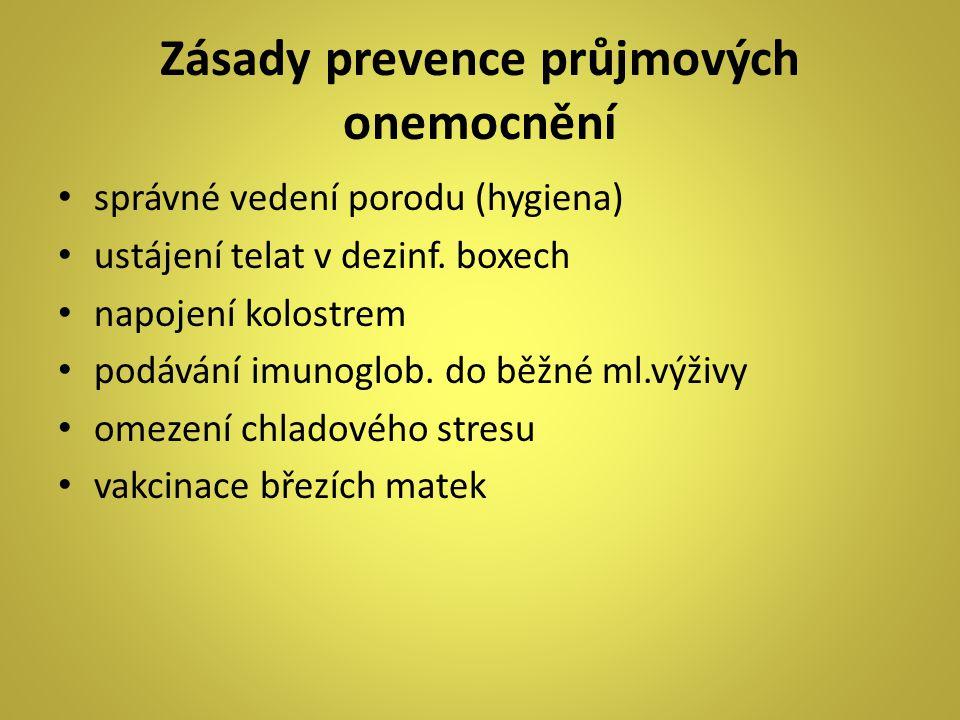 Zásady prevence průjmových onemocnění
