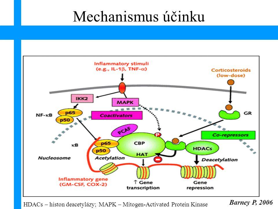 Mechanismus účinku Barney P, 2006