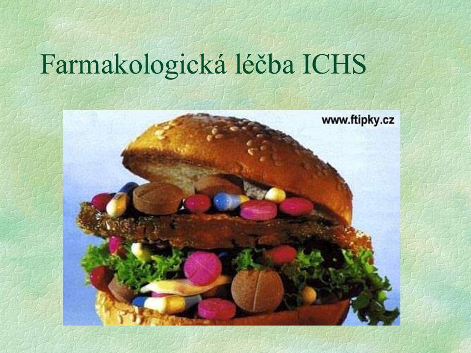 Farmakologická léčba ICHS