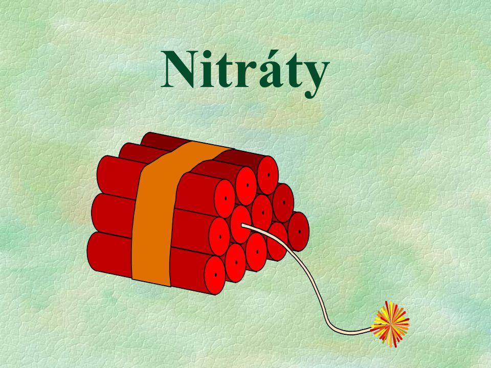 Nitráty