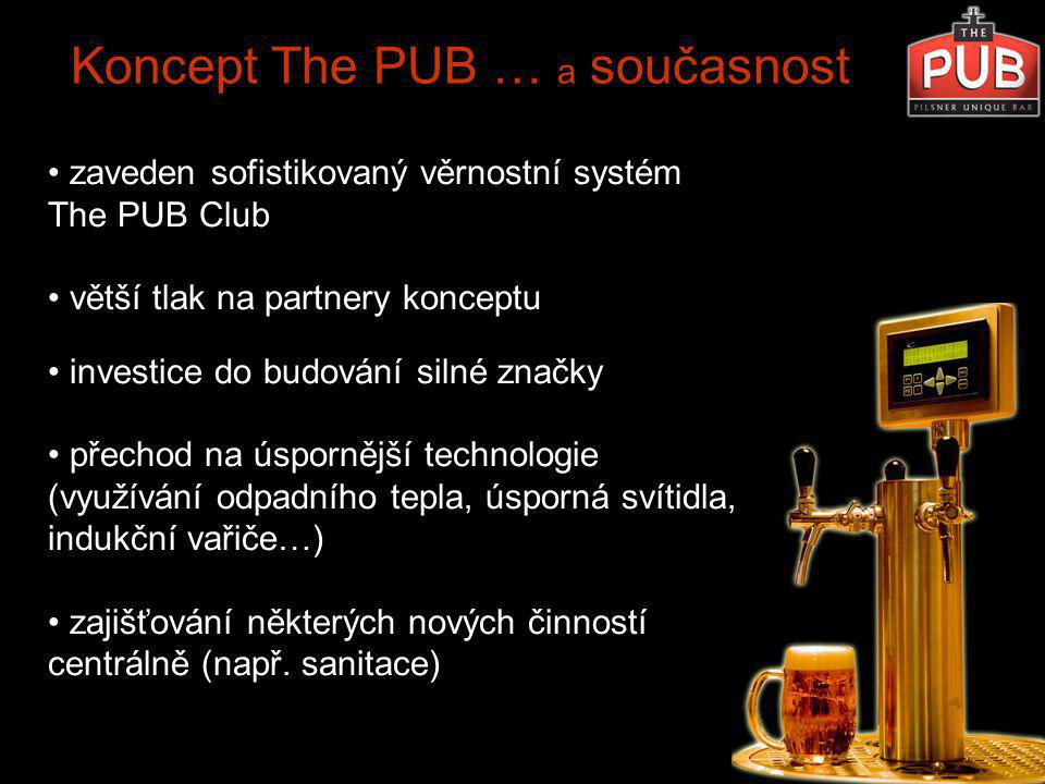 Koncept The PUB … a současnost