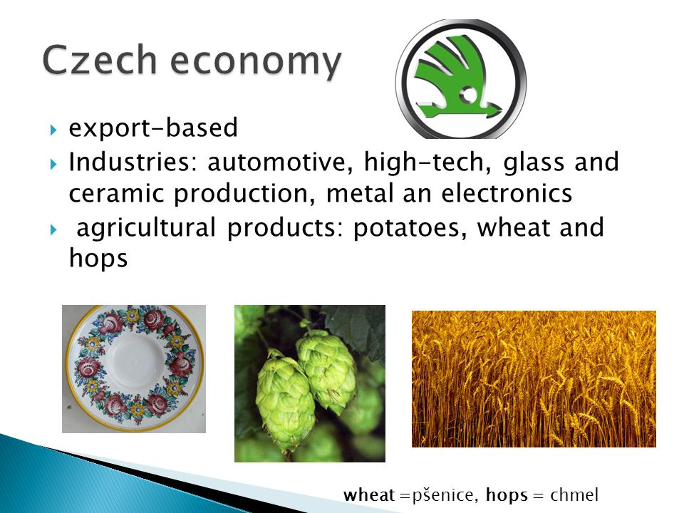 Czech economy export-based