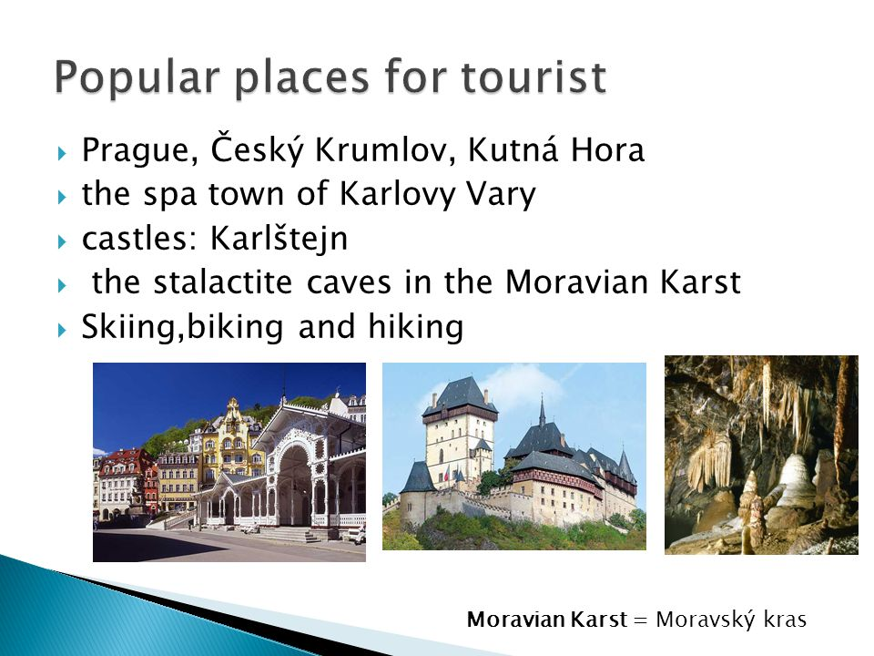 Popular places for tourist