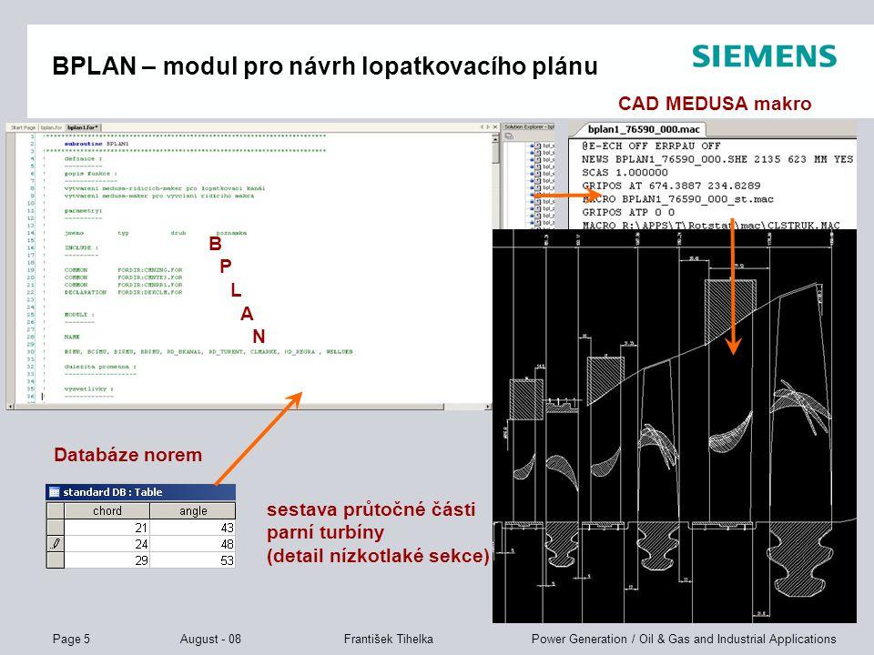BPLAN – modul pro návrh lopatkovacího plánu