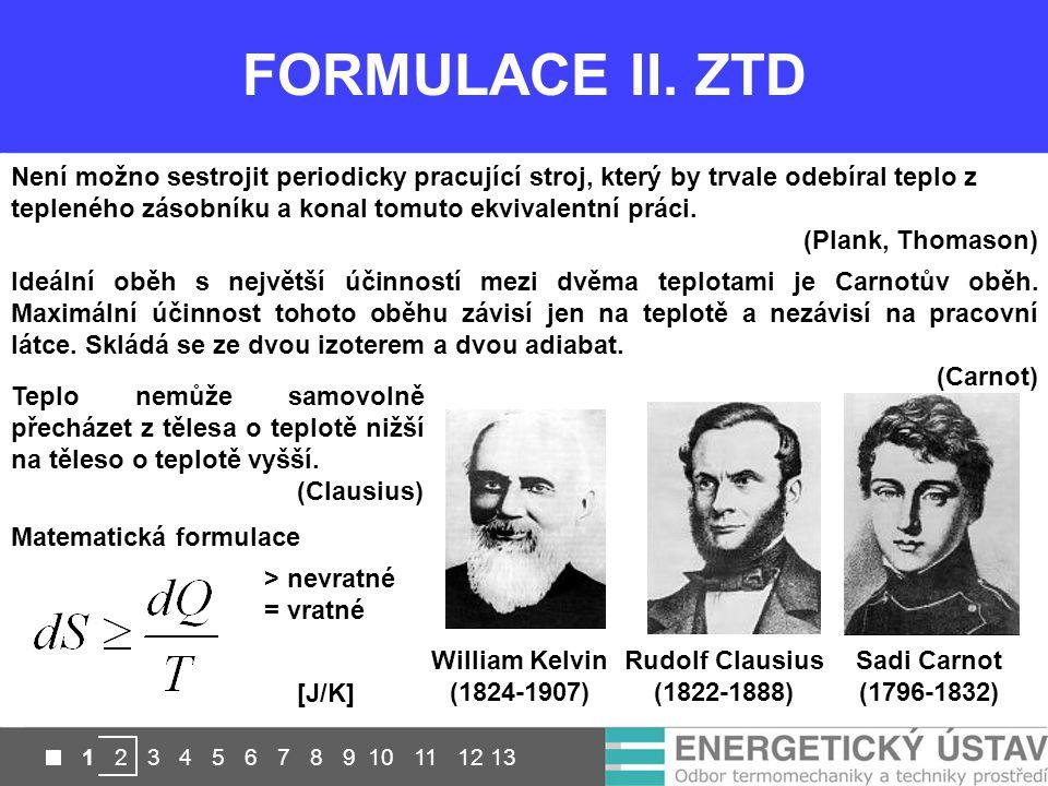 FORMULACE II. ZTD