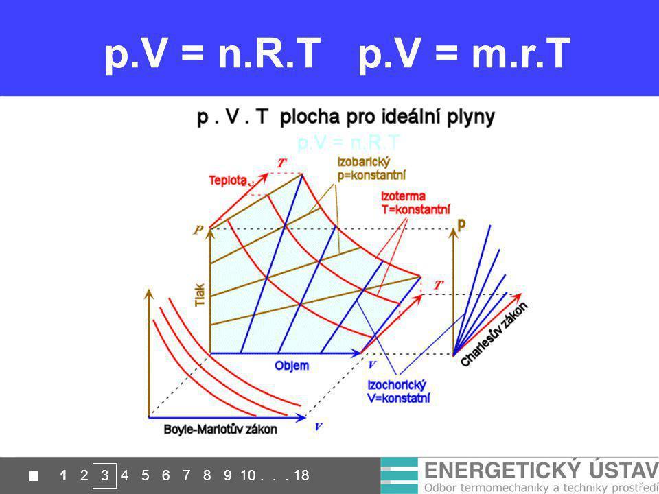 p.V = n.R.T p.V = m.r.T 1 2 3 4 5 6 7 8 9 10 . . . 18