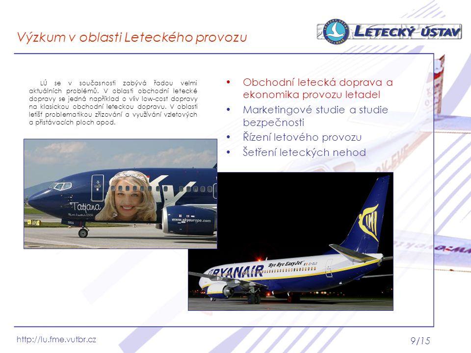 Výzkum v oblasti Leteckého provozu