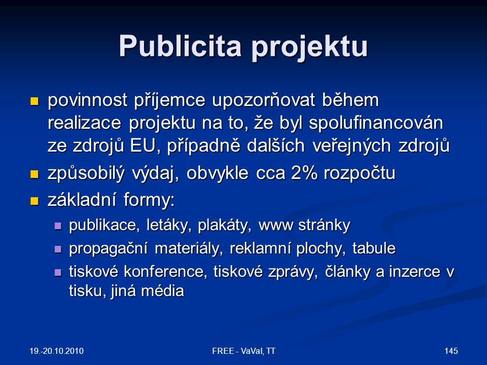 Publicita projektu