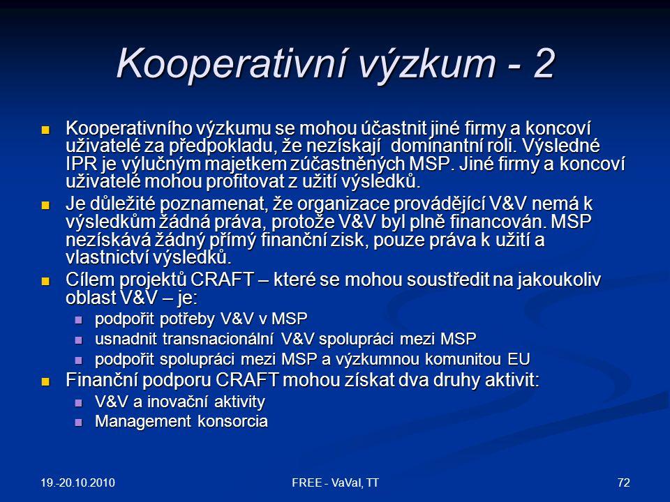 Kooperativní výzkum - 2