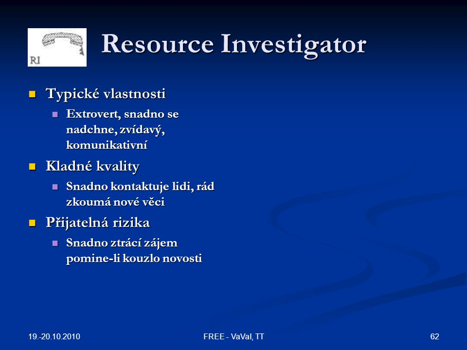 Resource Investigator