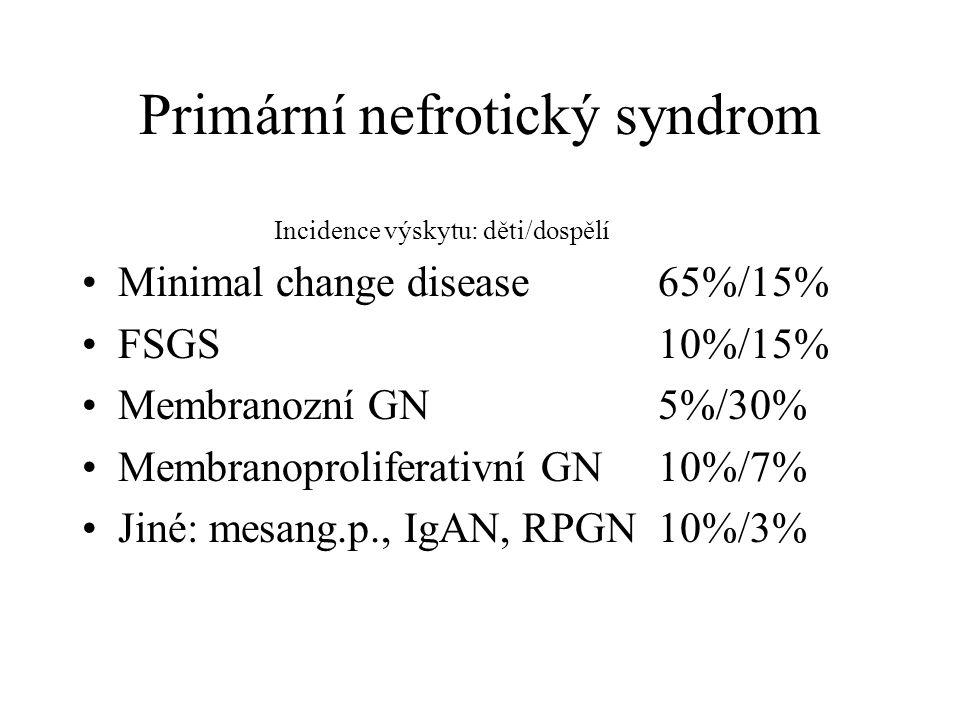 Primární nefrotický syndrom
