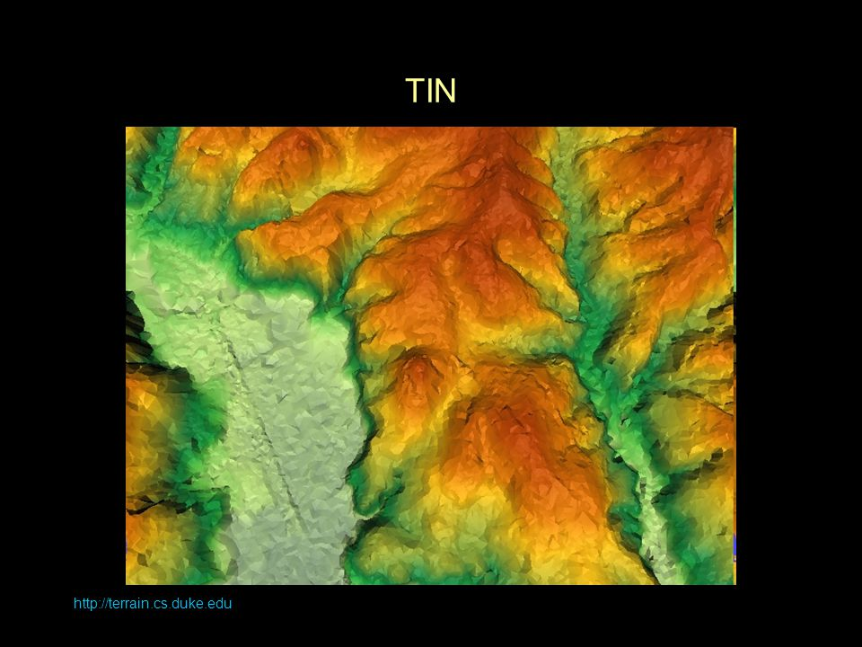 TIN http://terrain.cs.duke.edu
