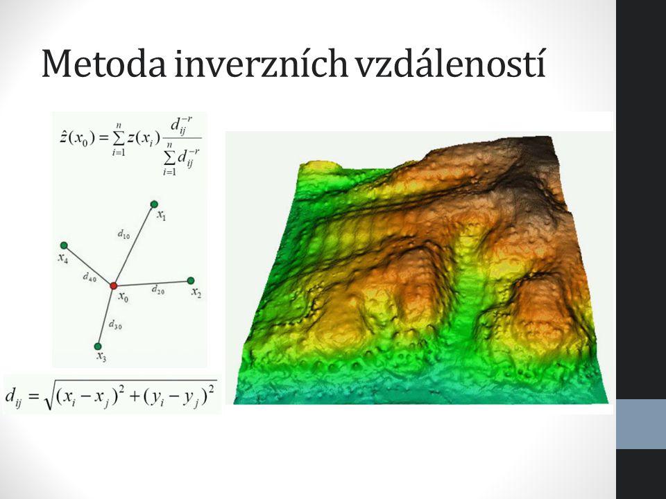 Metoda inverzních vzdáleností