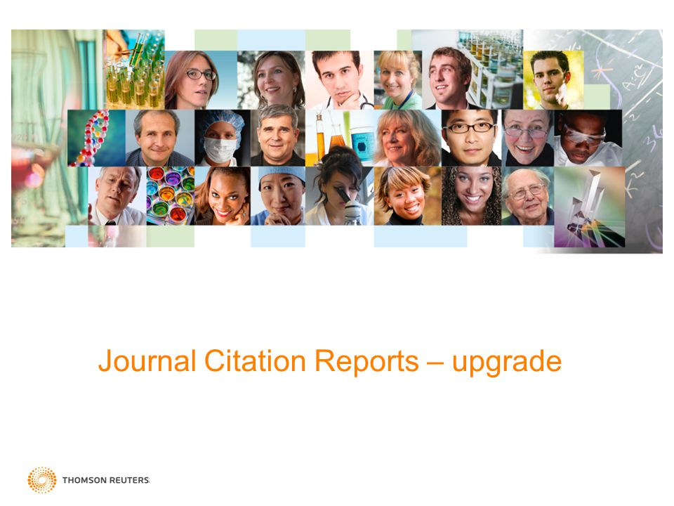 Journal Citation Reports – upgrade