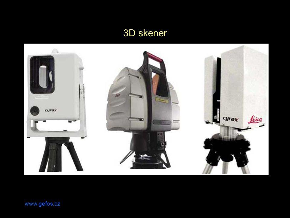 3D skener www.gefos.cz