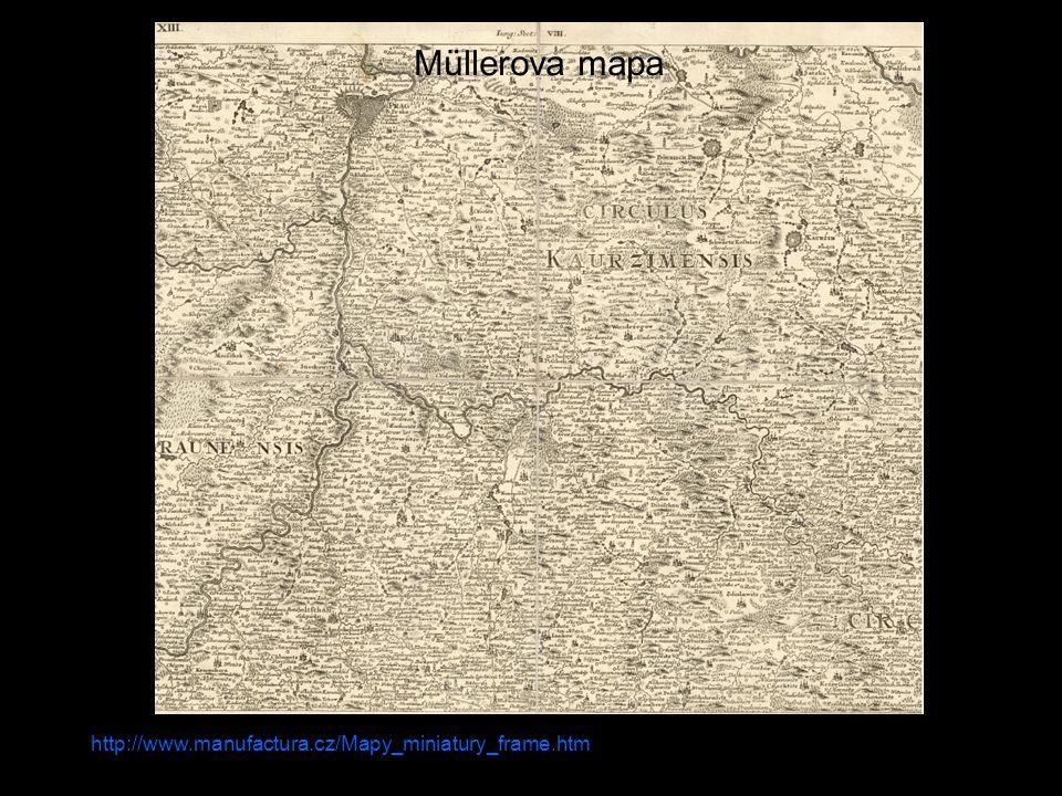 Müllerova mapa http://www.manufactura.cz/Mapy_miniatury_frame.htm