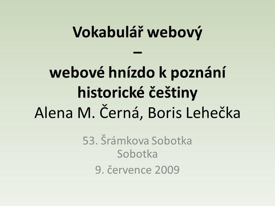 53. Šrámkova Sobotka Sobotka 9. července 2009