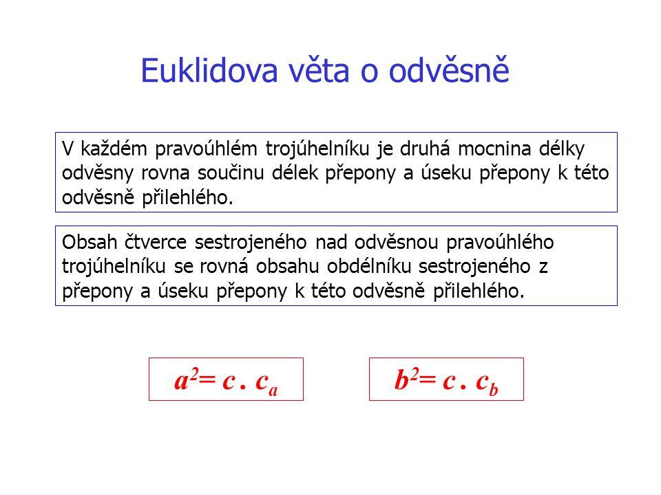 Euklidova věta o odvěsně
