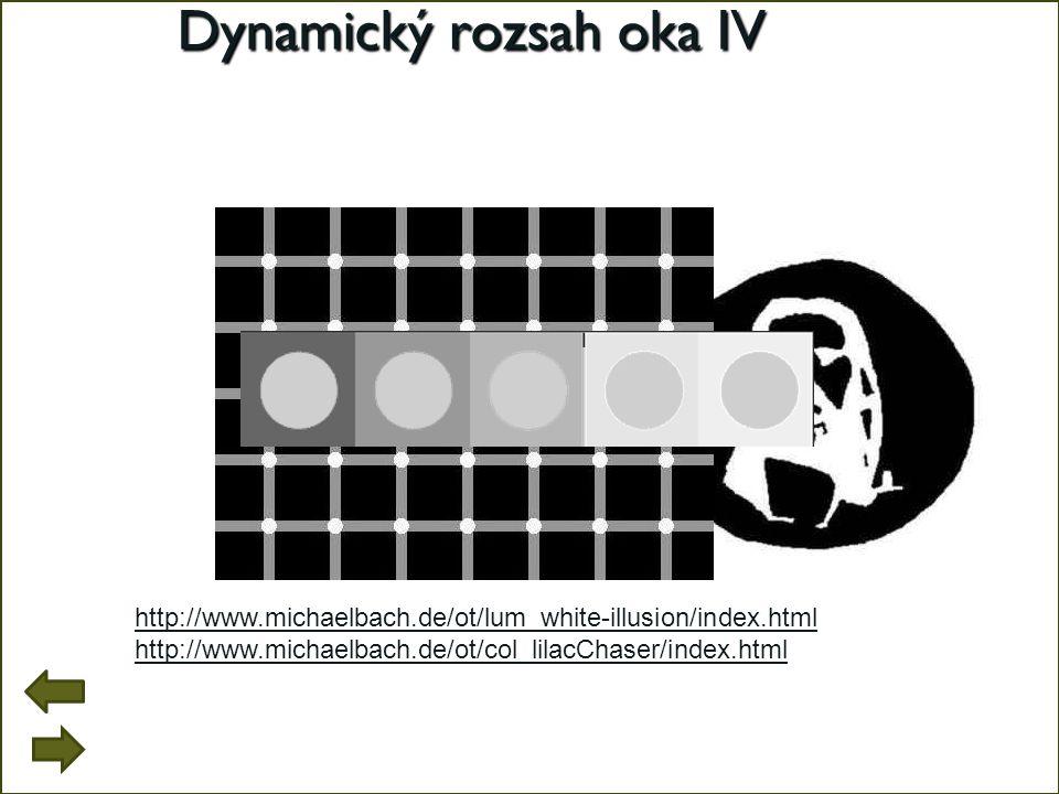 Dynamický rozsah oka IV
