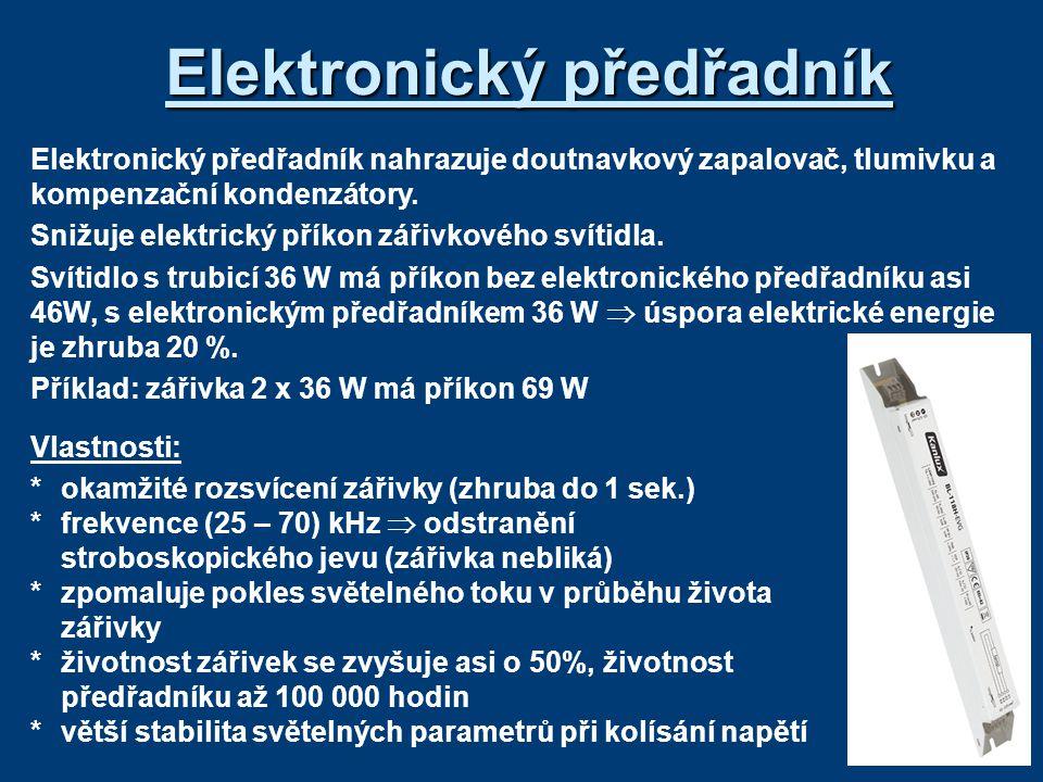Elektronický předřadník
