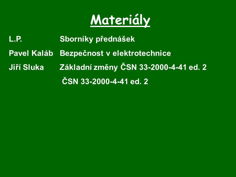 Materiály L.P. Sborníky přednášek