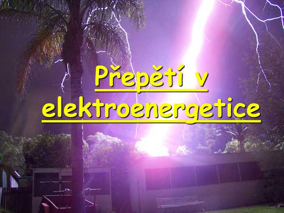 Přepětí v elektroenergetice
